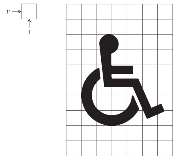 Fig. 620.2.20.3, Disabled Symbol Detail