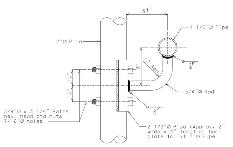Image 751 12 4 Handrail Bracket Jpg Engineering Policy Guide
