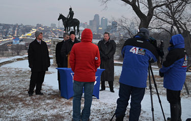 Involving the media to assist in information dissemination