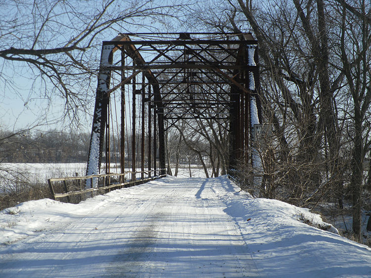 Portal View of the Historic Big Creek Bridge