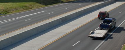 Type C Permanent Concrete Traffic Barrier