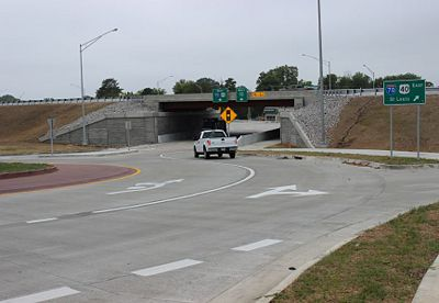 The Columbia I-70 Bridges Project has been completed. The $18 million design-build project replaced I-70 bridges over Bus. Loop 70/West Blvd., Garth Ave., and MO Rte. 763/Rangeline St.