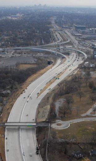 The I-64 reconstruction project in St. Louis was selected as the 2010 America's Transportation Awards Grand Prize Winner by the American Association of State Highway and Transportation Officials (AASHTO), AAA and the U.S. Chamber of Commerce.
