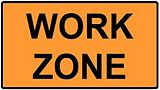 G20-5aP WORK ZONE (Plaque)