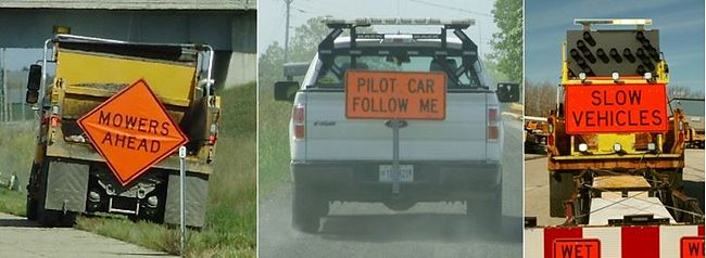 Vehicle-Mounted Signs