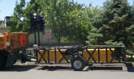 Trailer-Mounted Attenuator