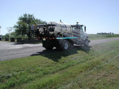 A high volume/high pressure sprayer